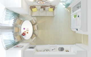 Идеи для дизайна кухни-гостиной на 30 кв м
