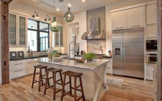 Как в частном доме оформить кухню: секреты и советы