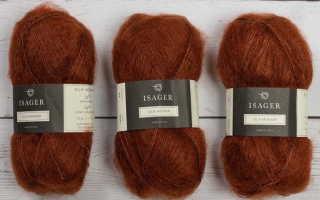 Свитер-наволочка спицами из кид мохера: описание изделия с рукавами