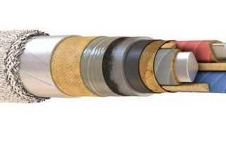 Кабель АСБ: расшифровка, технические характеристики