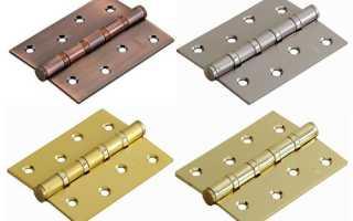 Как правильно установить дверные петли
