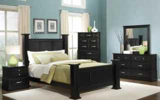 Темная мебель: какие обои лучше выбрать