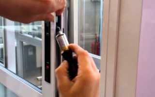 Ремонт пластиковых дверей своими руками