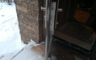 Конденсат на входной металлической двери: почему «плачет» металлическая дверь