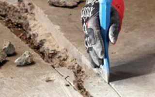 Ремонт бетонного пола своими руками: очистка пола и нанесение бетона