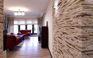 Облицовка стен диким камнем — шикарный вариант
