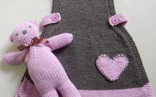 Вязаное платье для девочки спицами со схемами и описанием: практикуем вязание спицами для малышки