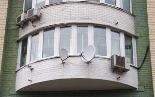 Эркерная лоджия и балкон