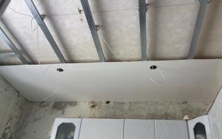 Варианты монтажа подвесного потолка