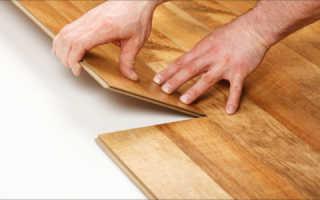 Как правильно положить ламинат на пол?