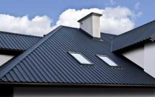 Монтаж крыши из профнастила на металлическом каркасе