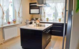 Классическая кухня со столешницей «островом»