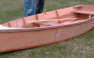 Самодельная лодка из фанеры
