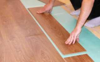 Укладка ламината на плитку: подготовка основания, монтаж ламинатной доски