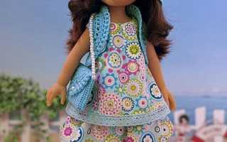 Сумочка Мочила крючком для куклы