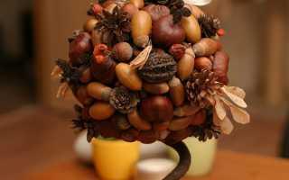 Из чего можно сделать шарик для топиария и для декора