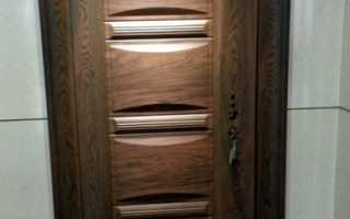 Варианты отделки металлических дверей своими руками