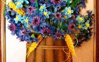 Васильки квиллинг: мастер класс по кручению цветков