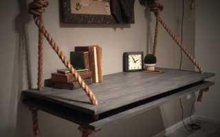 Оригинальные полки из дерева для дома своими руками