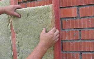 Утепление кирпичных стен современными методами