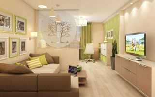 Как разделить комнату с помощью штор: гостиную, спальню, детскую