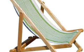 Изготовление раскладного кресла своими руками