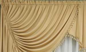 Какими бывают императорские шторы и как их шьют?