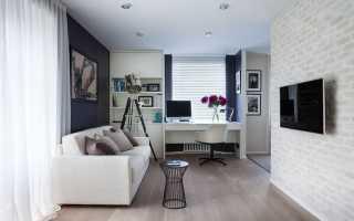 Правильный интерьер для маленькой квартиры