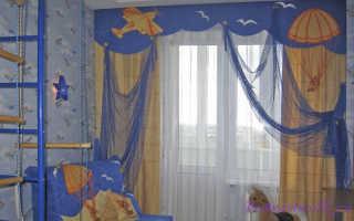 Как сшить штору в детскую комнату самостоятельно — самый быстрый способ