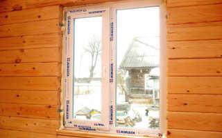 Как выполнить установку окон в деревянном доме