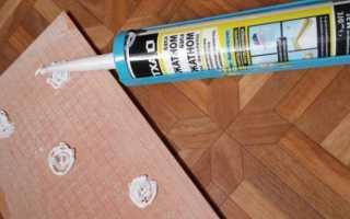 Клей и жидкие гвозди для плитки в ванную комнату