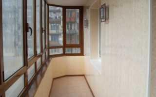 Каким материалом лучше отделать балкон или лоджию
