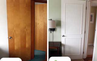 Реставрация старых дверей своими руками: эффективный метод обновления