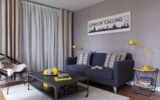 Желтые акценты в интерьере жилища