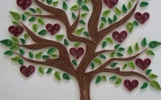 Дерево желаний своими руками