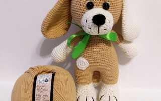 Схемы вязания собачки амигуруми