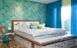 Какие обои клеить в спальне: как сделать лучший выбор