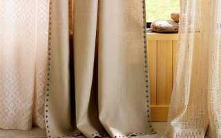 Как сшить шторы из льна? Это просто!