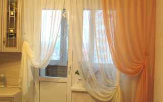 Шьем двухцветные шторы — интересные идеи для вашего интерьера