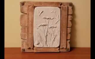 Делаем панно из гипса на стену: 5 замечательных идей