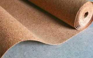 Пробковая подложка: ламинат и отзывы, пробка битумная и укладка, как крепить подкладку к полу, покрытие