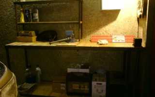 Изготовление стола в гараж своими руками