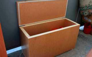 Делаем ящик для хранения овощей на балконе зимой