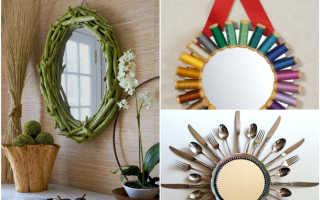 Идеи декорирования зеркала своими руками: частичка лета в Вашем доме