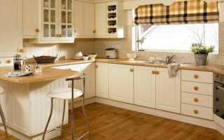 Римские шторы для кухни — красиво и практично