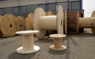 Стол из катушки для кабеля: круглый столик для гостиной и не только