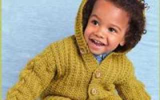 Кофта для мальчика: схема вязания спицами