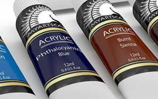 Особенности акриловых красок: состав, виды, свойства