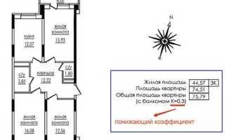 Входит ли балкон или лоджия в общую площадь квартиры