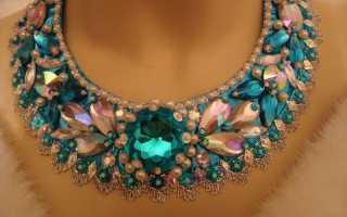 Модное ожерелье своими руками